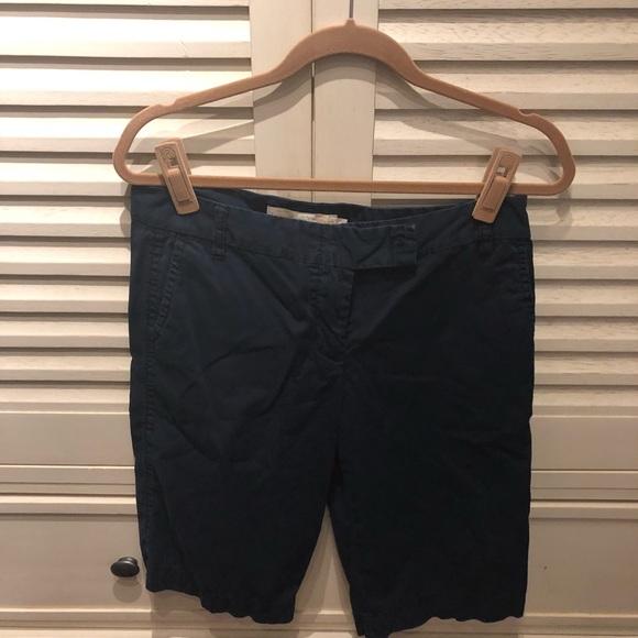 J. Crew Pants - JCrew broken chino navy Bermuda shorts-6